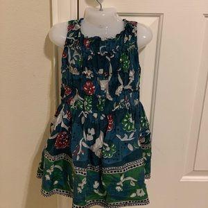 Burberry toddler girl beautiful silk dress size 5Y
